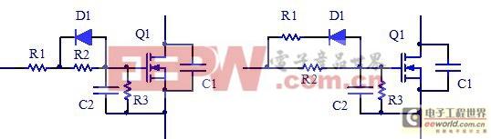 图8:MOSFET两种基本驱动电路结构