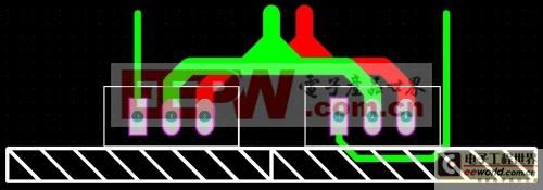 图18:并联MOS散热片共用(并排)