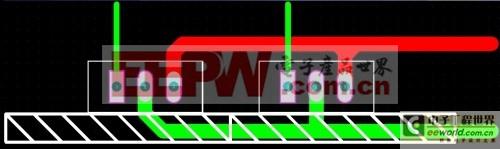 图19:并联MOS散热片共用(并排),不良走线