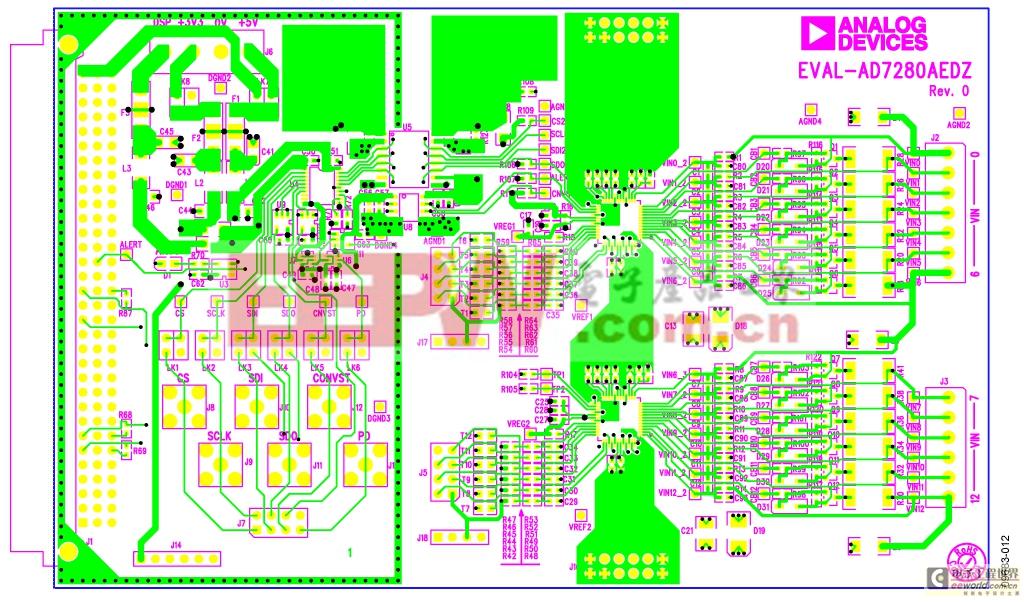 集成信号和电源隔离的锂离子电池组监控器