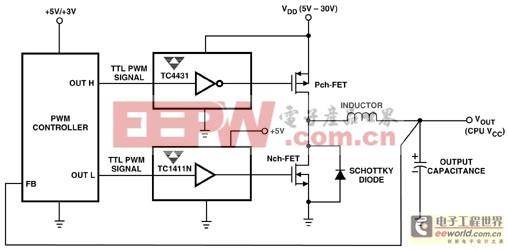 大功率开关电源中功率MOSFET的驱动技术