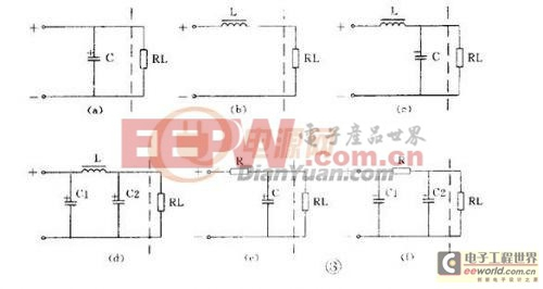 π型rc滤波电路