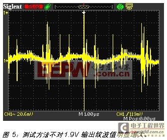 如何正确测量DC/DC模块的电源纹波指标