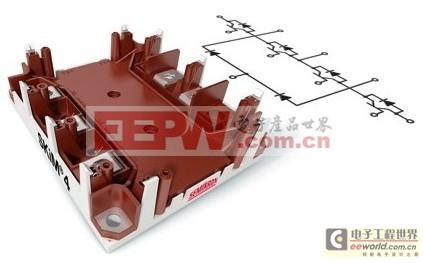 光伏和UPS逆变器供应最高效率的功率模块