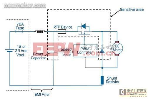 桑塔纳3000冷却风扇电路图