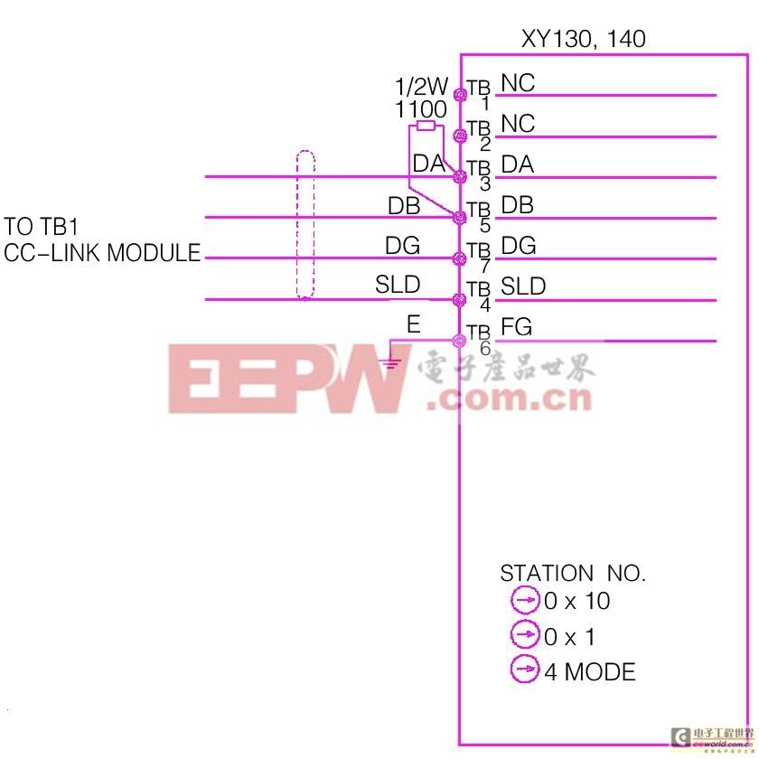 三菱plc io接线图
