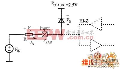 增加限流电阻参考电路