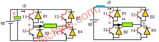 www.elecfans.com 电流型逆变器电路