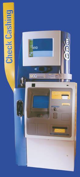 许多人不去银行柜台取钱,而是使用取款机。面部识别可消除可能发生的犯罪活动。