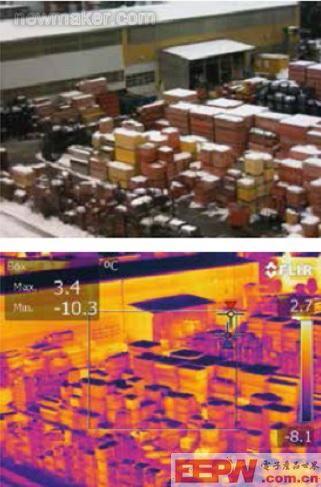 热成像无人驾驶飞机发现温度