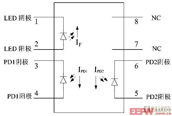 基于高线性光耦hcnr201的电压电流测量电路