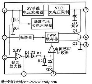 电子制作天地---电池充电器电路