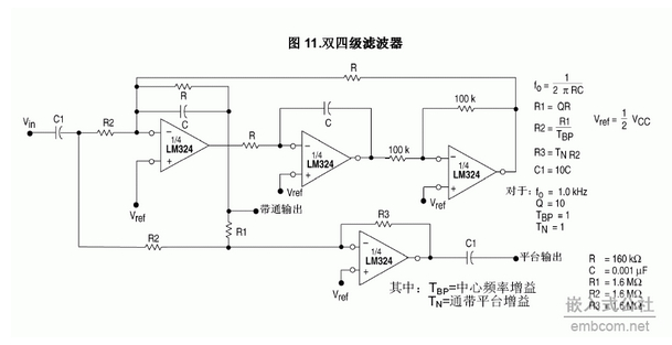 lm324引脚图资料与电路应用