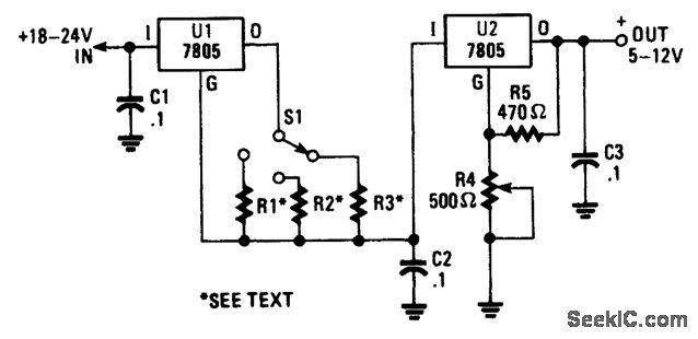 电压和电流调节器组合