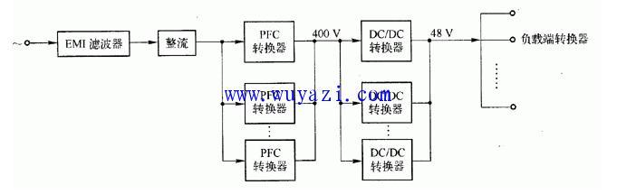 分布式供电电源系统的原理电路图