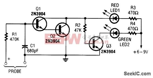 简单的电压探头