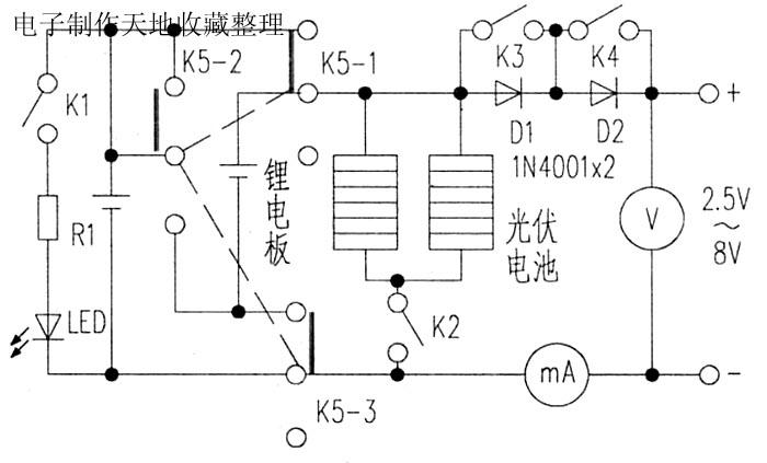 自制太阳能充电器--Solar battery charger
