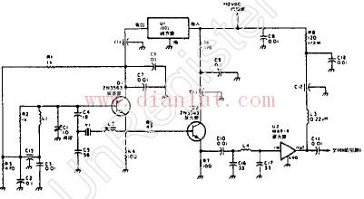 双均衡混频器的本机振荡器电路图