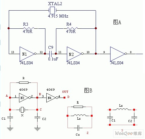 门电路组成的振荡器电路图振荡电路 电路图