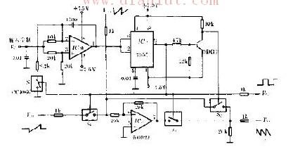 音乐波形发生器电路原理图信号产生 电路图