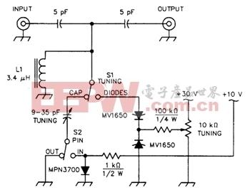 IMD测试电路PIN二极管