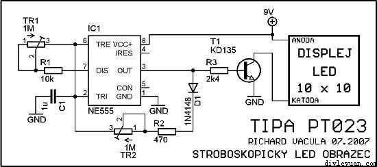 LED笑脸电路电路原理图