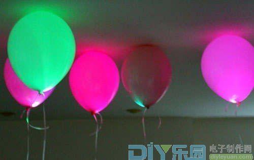 气球做花瓶步骤