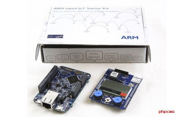 ARM与IBM联手进军物联网:推入门套件