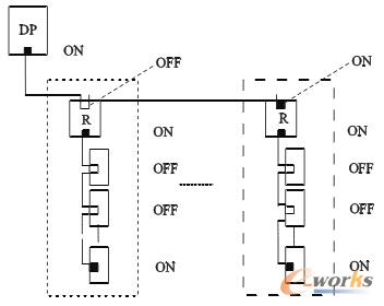 dp 设备连接及终端电阻图