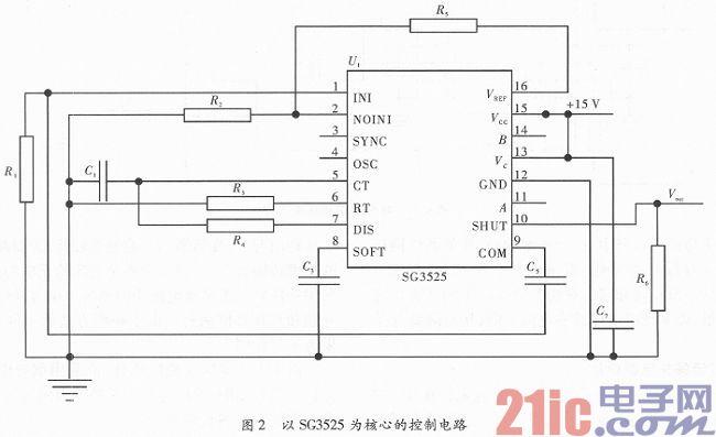 基于SG3525的非接触式小功率电能传输系统设计