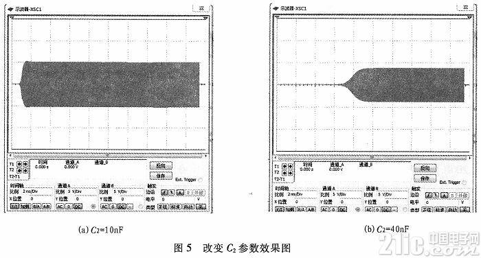 基于Multisim的西勒振荡器设计与仿真