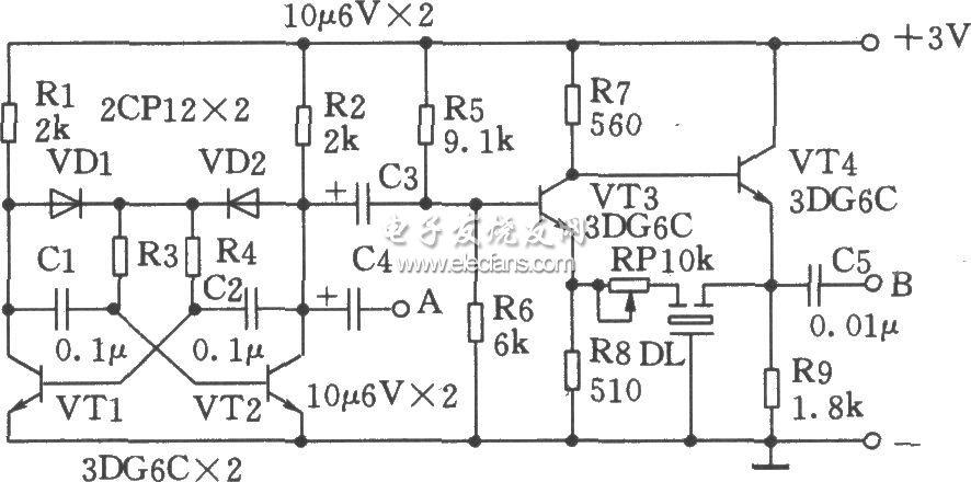3L465构成中频信号发生器电路