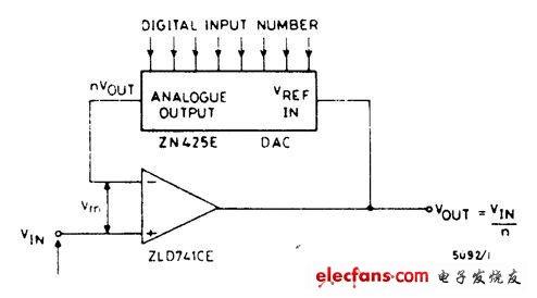 倒转脉冲计数器电路