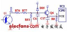 电磁炉VCE检测电路