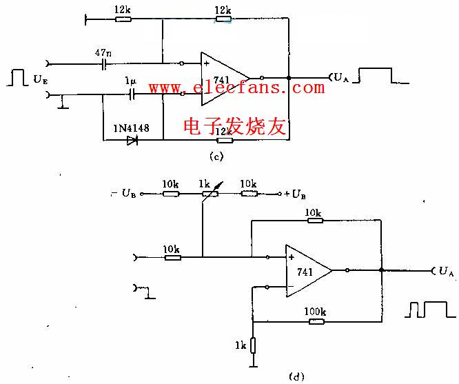 振荡电路图(运算放大器组成)