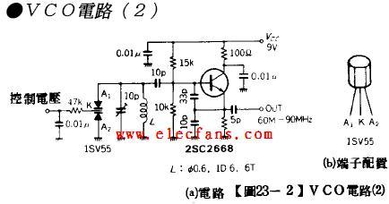 用电压控制频率的lc振荡电路