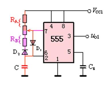 555 震荡 电路