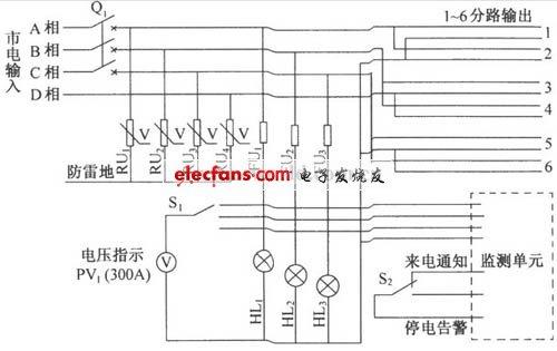 dut07交流配电箱电路图