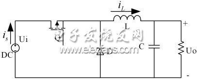 Buck变换器拓扑结构图