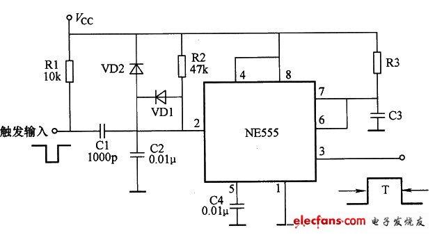电源置位定时电路