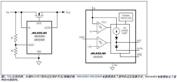 基本限压电路的内部构造和典型应用电路