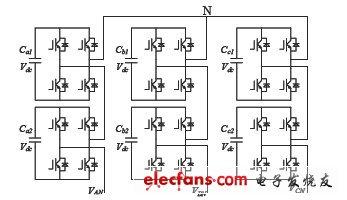 级联型五电平逆变器电路