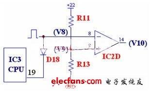 电磁炉加热开关控制电路
