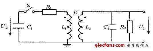 高压脉冲发生器等效电路