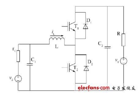 双向DC/DC变换器电路