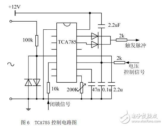 TCA785控制电路图