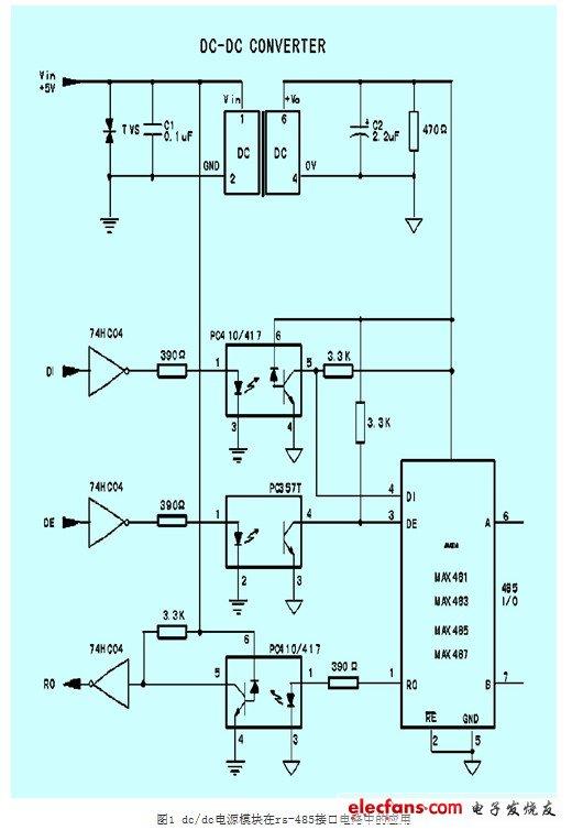 C DC在接口电路与放大器的电路设计图片