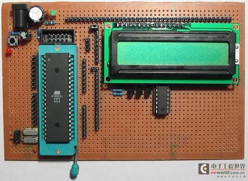 单片机驱动lcd1602的制作二