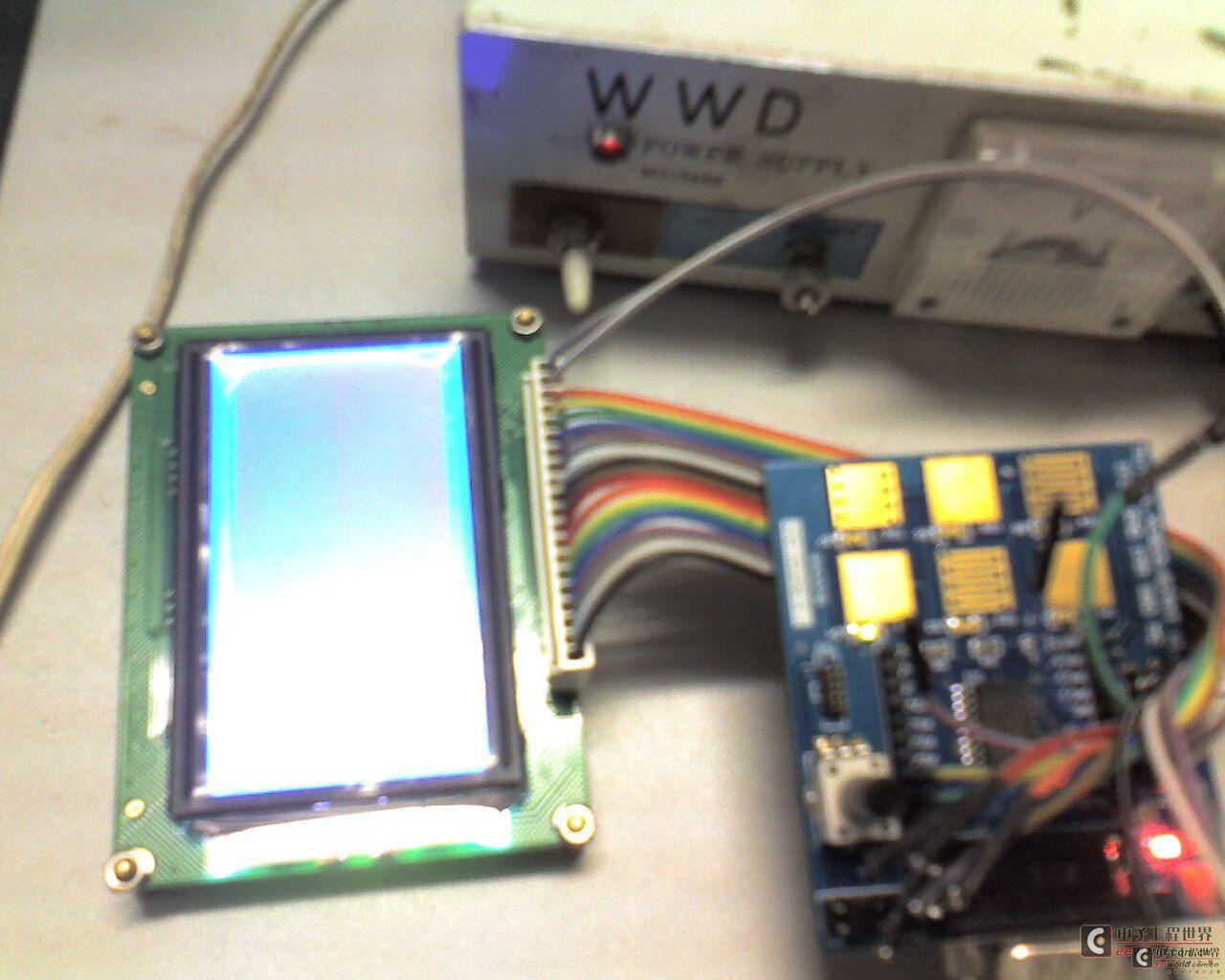 12864液晶显示串行程序(英飞凌xc824)