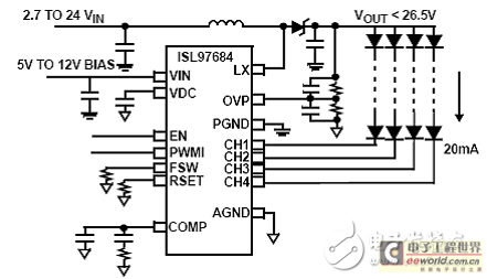 图3.isl97684双电源2.7v应用电路图
